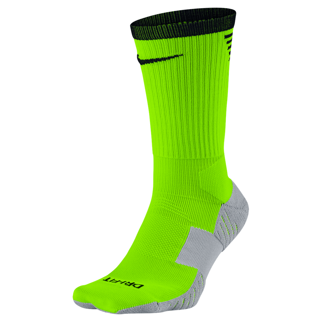 look out for usa cheap sale outlet store Nike Stadium Crew Socks Fußballsocken grün