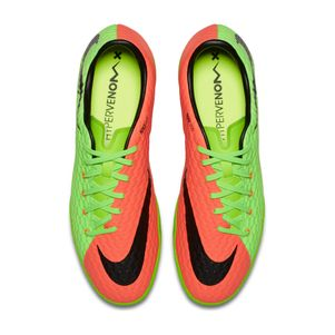 Nike Hypervenom Phelon III IC Indoor Radiation Flare Pack grün/orange – Bild 4
