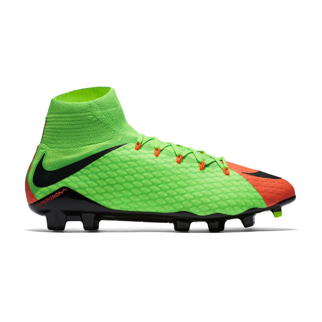 Nike Hypervenom Phatal III Dynamic Fit FG Radiation Flare Pack grün