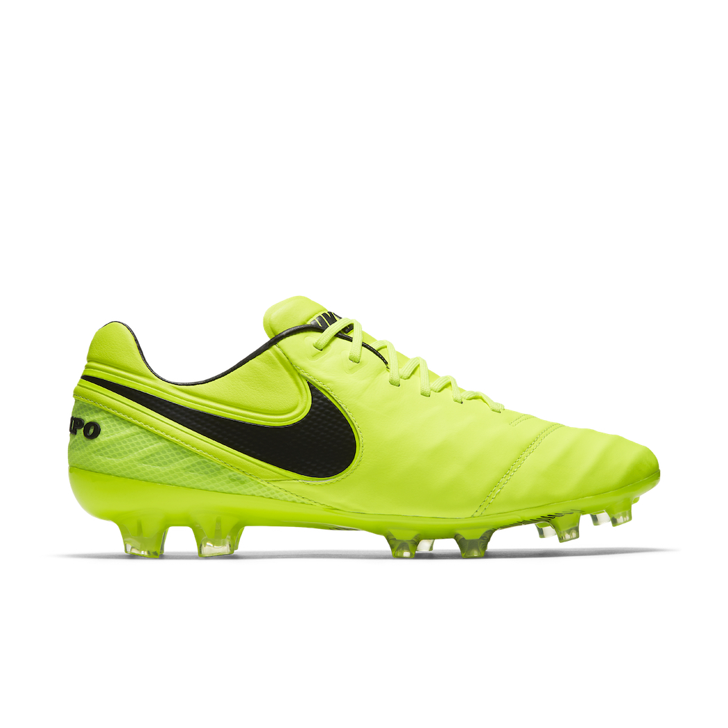competitive price 7ff28 1667e Nike Tiempo Legend VI FG Radiation Flare Pack gelb/schwarz Schuhe ...