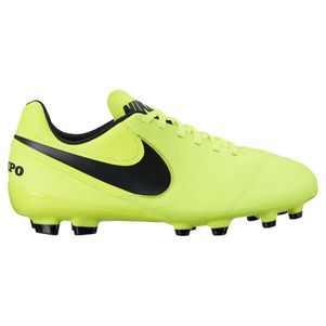Nike Junior Tiempo Legend VI FG Radiation Flare Pack gelb/schwarz – Bild 1