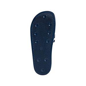 adidas Originals adilette Slipper Badelatschen Herren blau / weiß – Bild 8