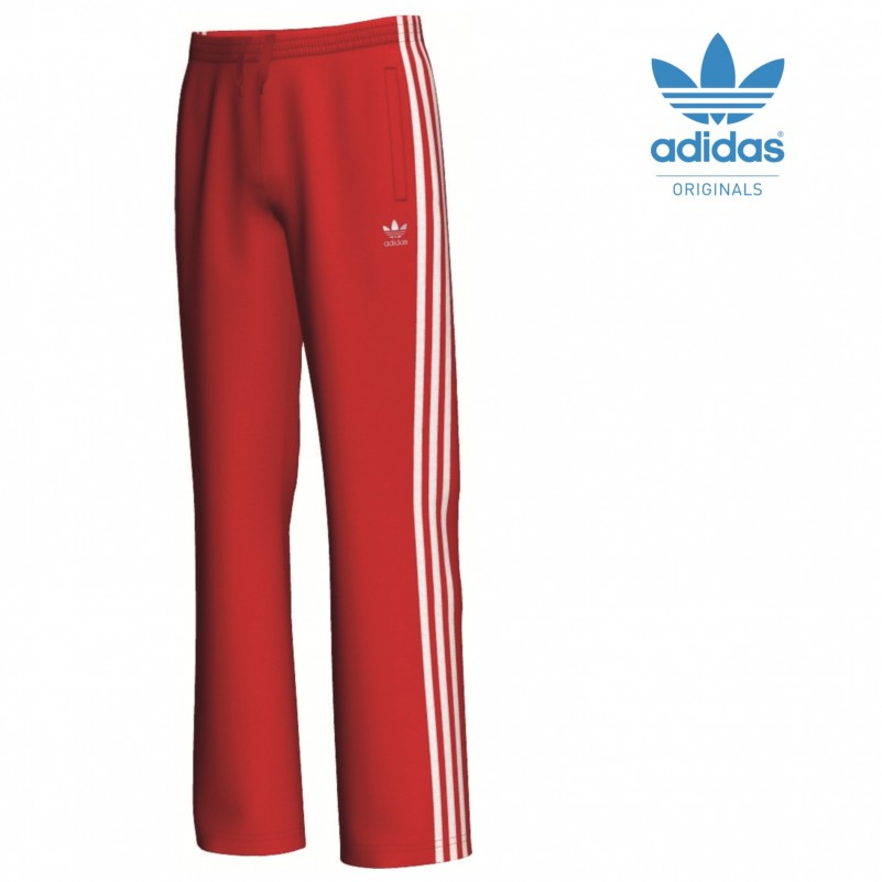 adidas s firebird tp hose kinder sporthose rot wei mode. Black Bedroom Furniture Sets. Home Design Ideas