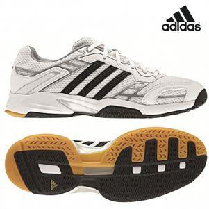 adidas opticourt Team Light Hallensportschuhe Sportschuhe weiß /silber / schwarz
