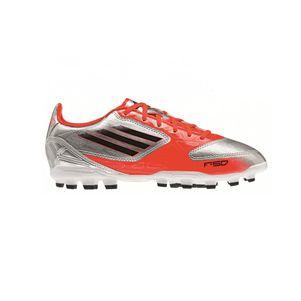 adidas F10 TRX AG Kids silber / rot / schwarz