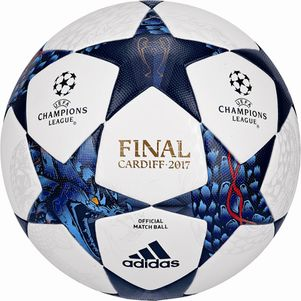 adidas Champions League Finale 17 Cardiff OMB Spielball Matchball 2017 – Bild 1
