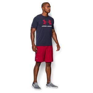 Under Armour Sportstyle Logo T-Shirt schwarz / grau / navy – Bild 25