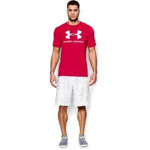 Under Armour Sportstyle Logo T-Shirt schwarz / grau / navy – Bild 14