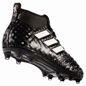 adidas ACE 17.1 FG Junior Checkered Black Pack schwarz / weiß – Bild 3