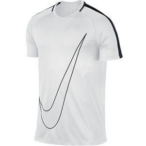 Nike Dry Academy Top kurzarm Trainingsshirt Herren weiß