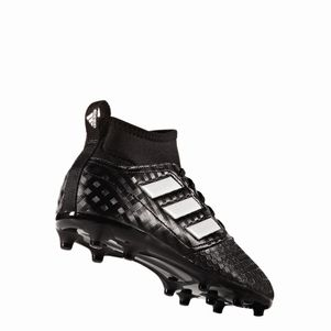 adidas ACE 17.3 Primemesh FG Junior Checkered Black Pack schwarz/weiß – Bild 2