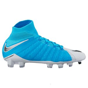 Nike Hypervenom Phantom III Dynamic Fit FG Junior Motion Blur weiß / blau – Bild 1