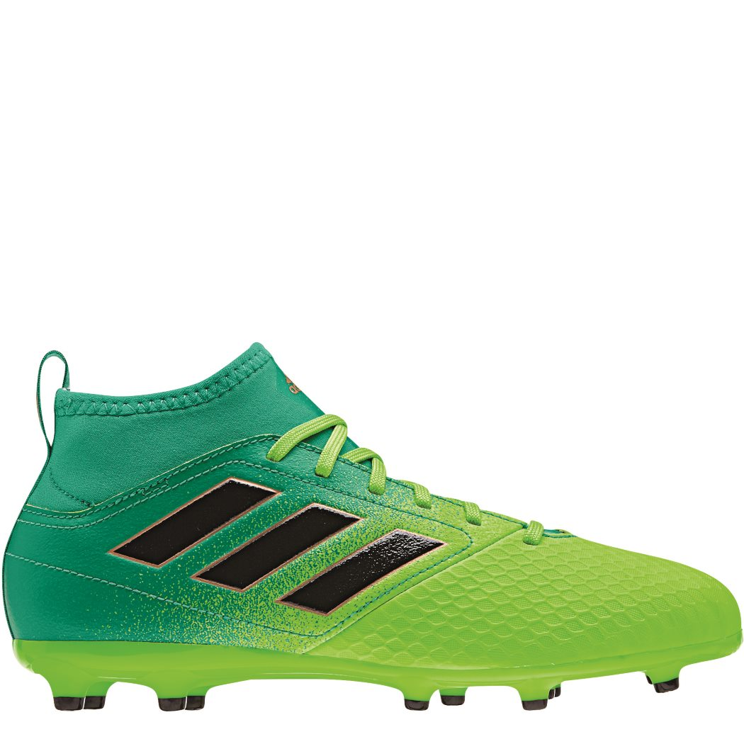 160258ffa494 adidas ACE 17.3 Primemesh FG Junior Fußballschuhe Turbocharge Pack grün