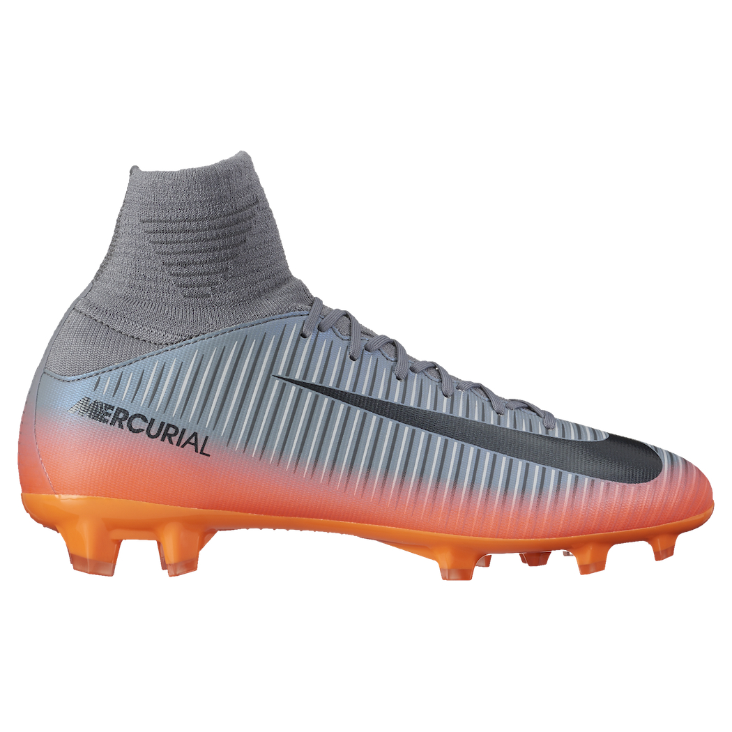 coupon code new arrivals fresh styles Nike Mercurial Superfly V CR7 FG Junior Chapter4 grau ...