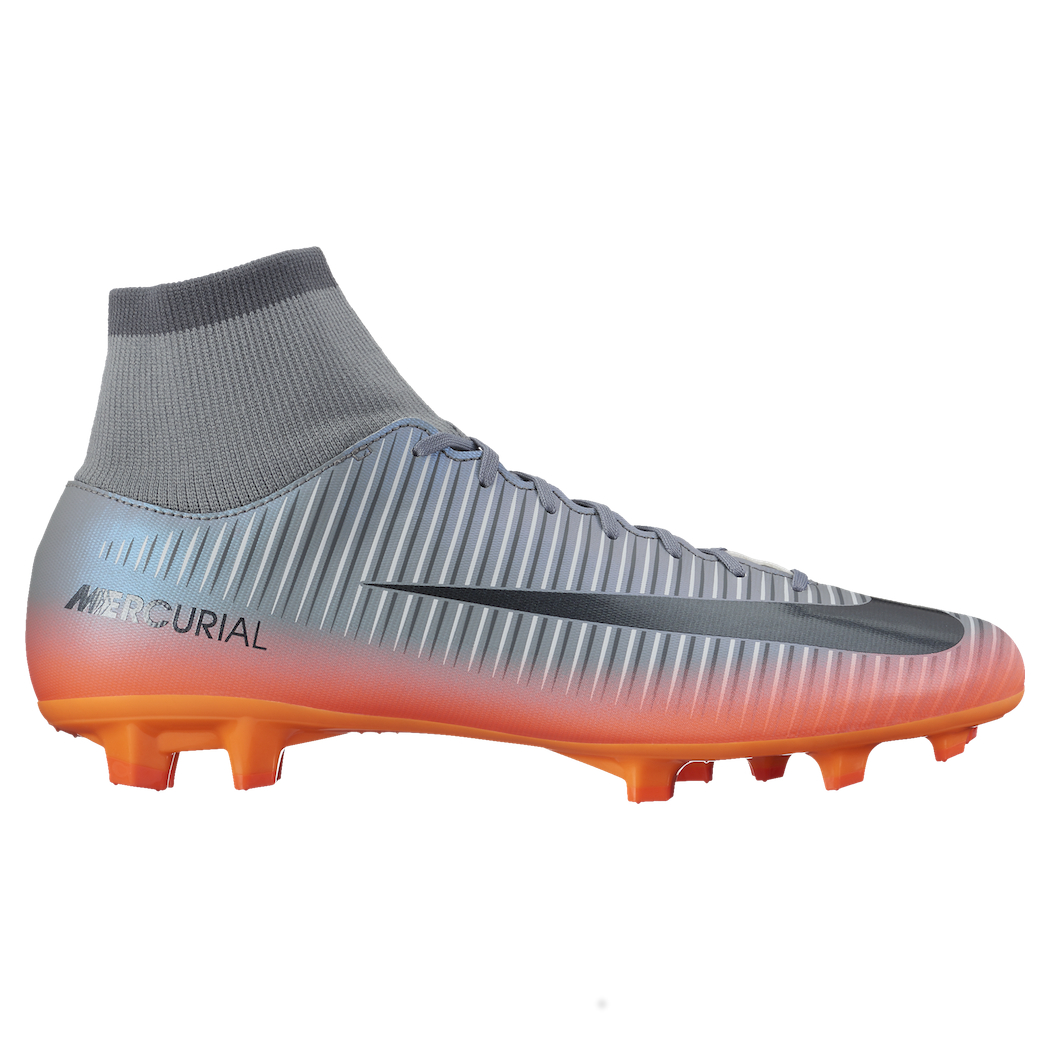 ever popular professional sale super cheap nike mercurial cr7 ag grau weiß schuhe
