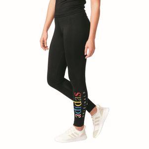 adidas originals trefoil leggings fitnesshose damen schwarz grau ebay. Black Bedroom Furniture Sets. Home Design Ideas