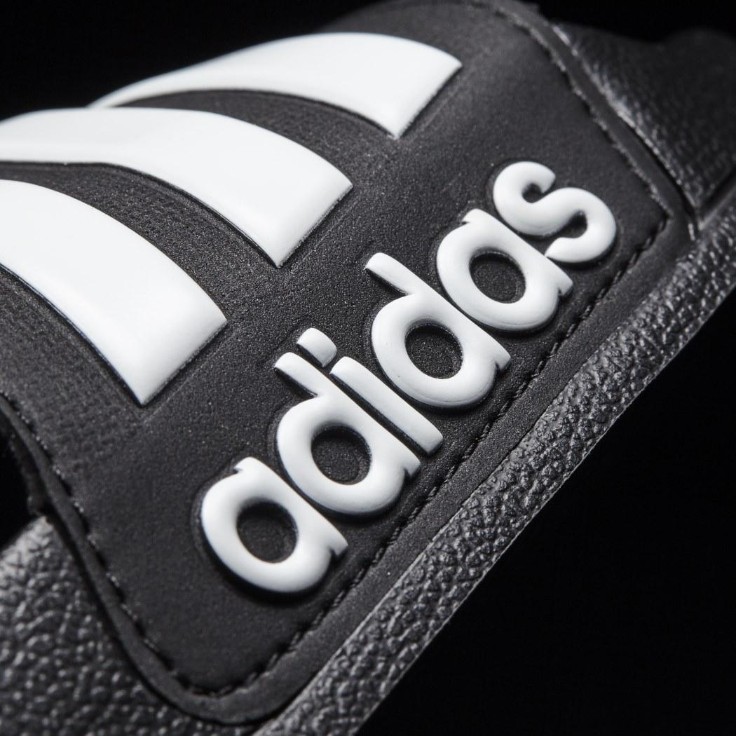 adidas adilette Cloudfoam Shower Badeschuhe schwarz weiß