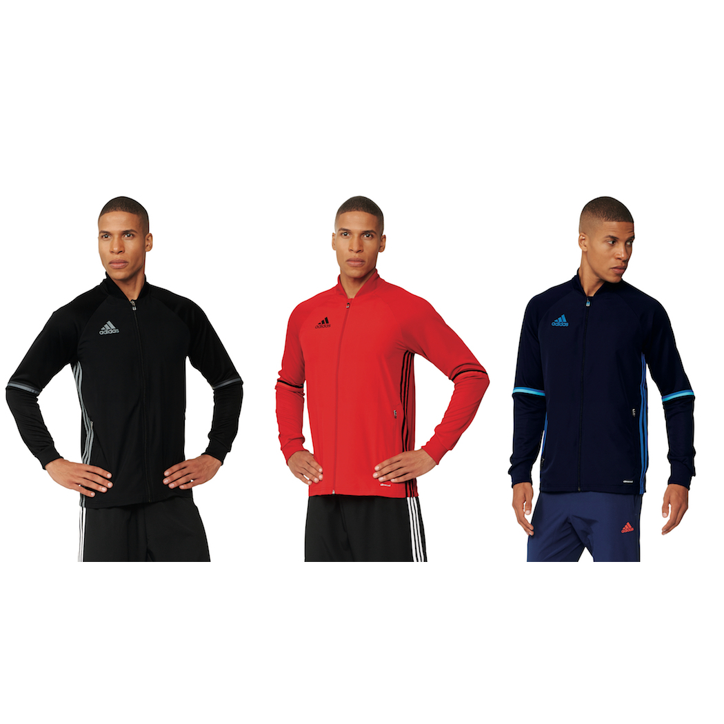 adidas Condivo 16 Trainingsjacke rot blau schwarz