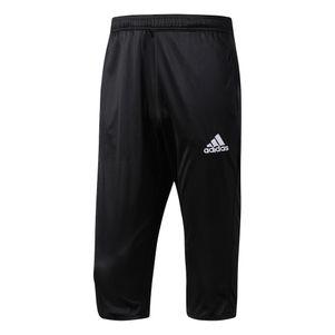 adidas Core 15 3/4 Trainingshose Short schwarz/weiß – Bild 1