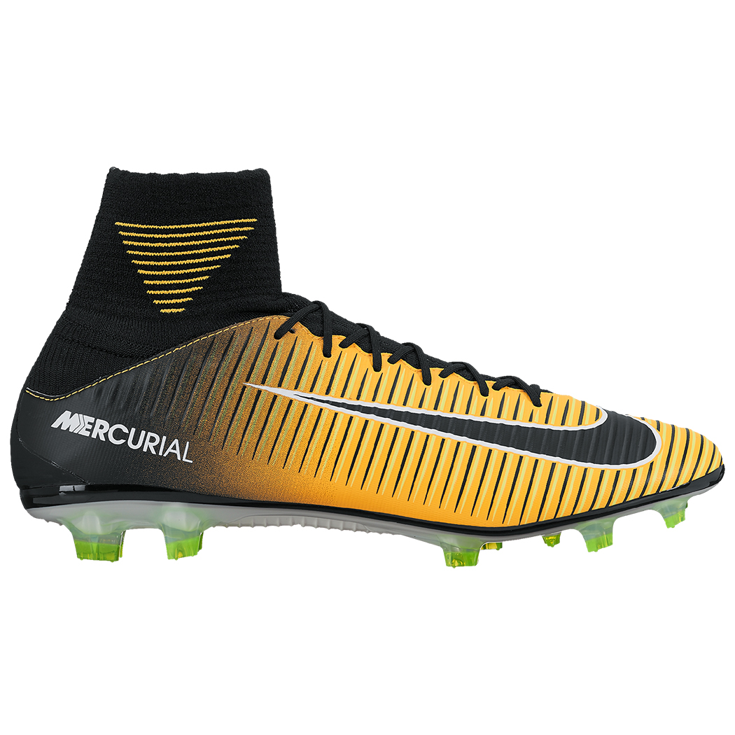 sports shoes 6a84f c3129 Nike Mercurial Veloce III DF FG Lock In Let Loose Pack orange  schwarz   gelb