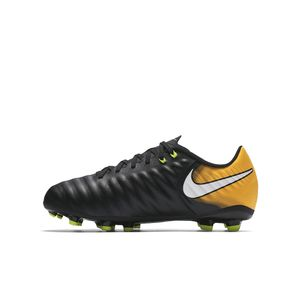 Nike Junior Tiempo Ligera IV FG Lock In Let Loose Pack schwarz / orange – Bild 2