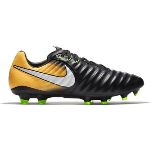 Nike Tiempo Legacy III FG Lock In Let Loose Pack schwarz / orange  – Bild 1