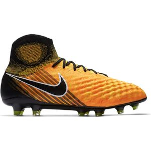 Nike Magista Obra II FG Lock In Let Loose Pack schwarz / orange – Bild 1