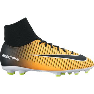 Nike Junior Mercurial Victory VI Dynamic Fit FG Lock In Let Loose Pack schwarz / orange  – Bild 1