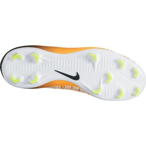 Nike Junior Mercurial Victory VI Dynamic Fit FG Lock In Let Loose Pack schwarz / orange  – Bild 2