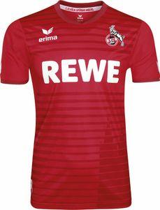 erima 1. FC Köln Auswärtstrikot 2017 / 2018 rot