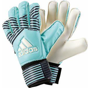 adidas ACE Fingersave RepliqueTorwarthandschuhe türkis / weiß – Bild 1