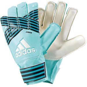 adidas ACE Junior Torwarthandschuhe türkis / blau – Bild 1