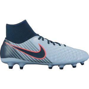Nike Magista Onda II Dynamic Fit FG Rising Fast Pack rot / grau   – Bild 1