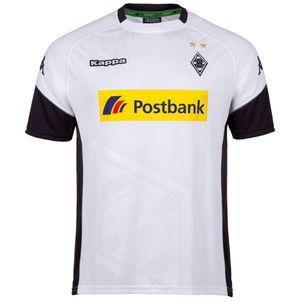 Kappa Borussia Mönchengladbach Heimtrikot 2017 / 2018 weiß  – Bild 1