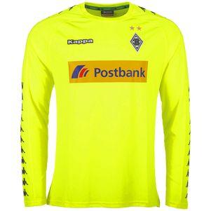 Kappa Borussia Mönchengladbach Torwarttrikot 2017/2018 gelb – Bild 1