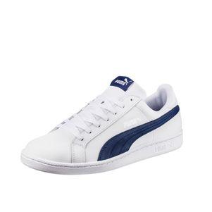 Puma Smash L Sneaker weiß / schwarz weiß / blau – Bild 6