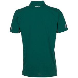 Kappa Borussia Mönchengladbach Sparetime Poloshirt  grün / grau – Bild 2