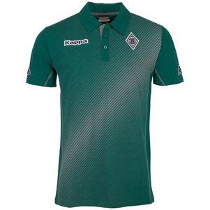 Kappa Borussia Mönchengladbach Sparetime Poloshirt  grün / grau – Bild 1