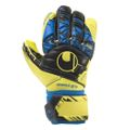 Uhlsport Speed Up Now Absolut Grip HN Torwarthandschuhe gelb / schwarz / blau