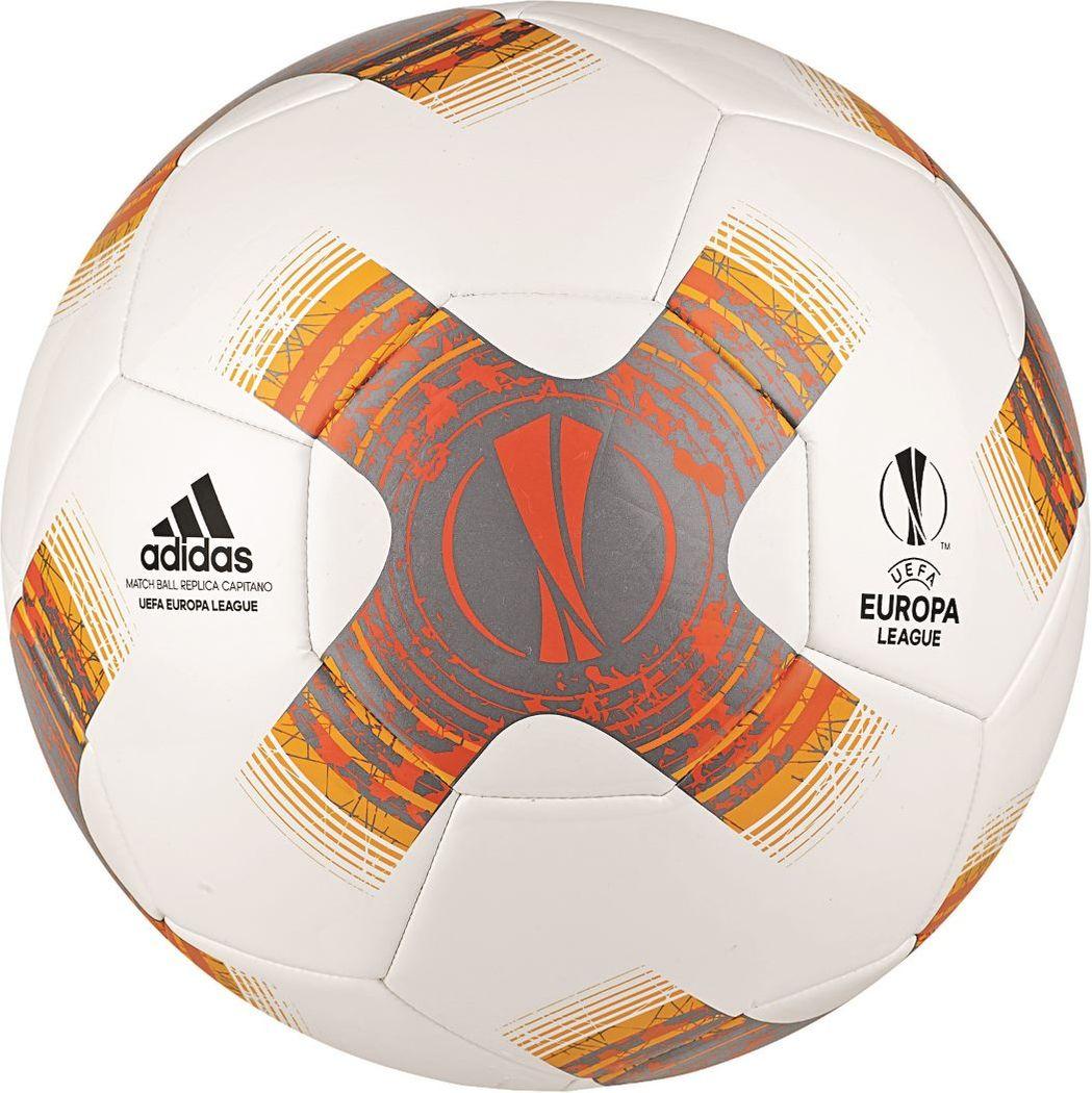 Adidas Uefa Europa League Fussball 2017 2018 Capitano Weiss