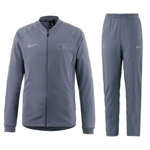 Nike CR7 Kinder Trainingsanzug Dry Squad Knit grau