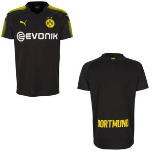 Puma BVB Borussia Dortmund Auswärtstrikot 2017/2018 schwarz mit Flock – Bild 13