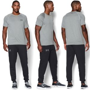 Under Armour Rival Cotton Jogger Fleece Jogginghose schwarz