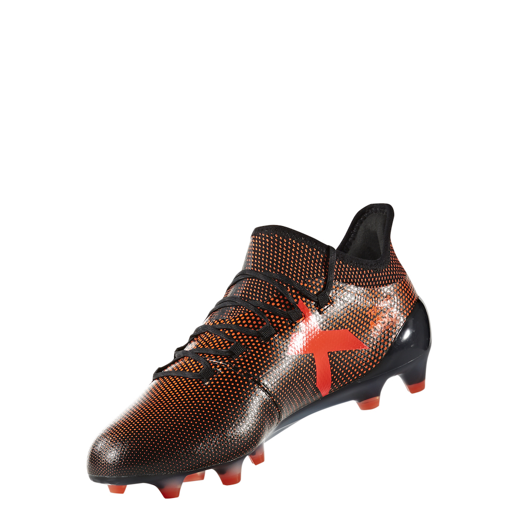 adidas X 17.1 FGAG Thunder Storm SchwarzGelb 42 Fußballschuhe