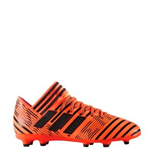 adidas NEMEZIZ 17.3 FG Junior Pyro Storm Pack orange / schwarz – Bild 1