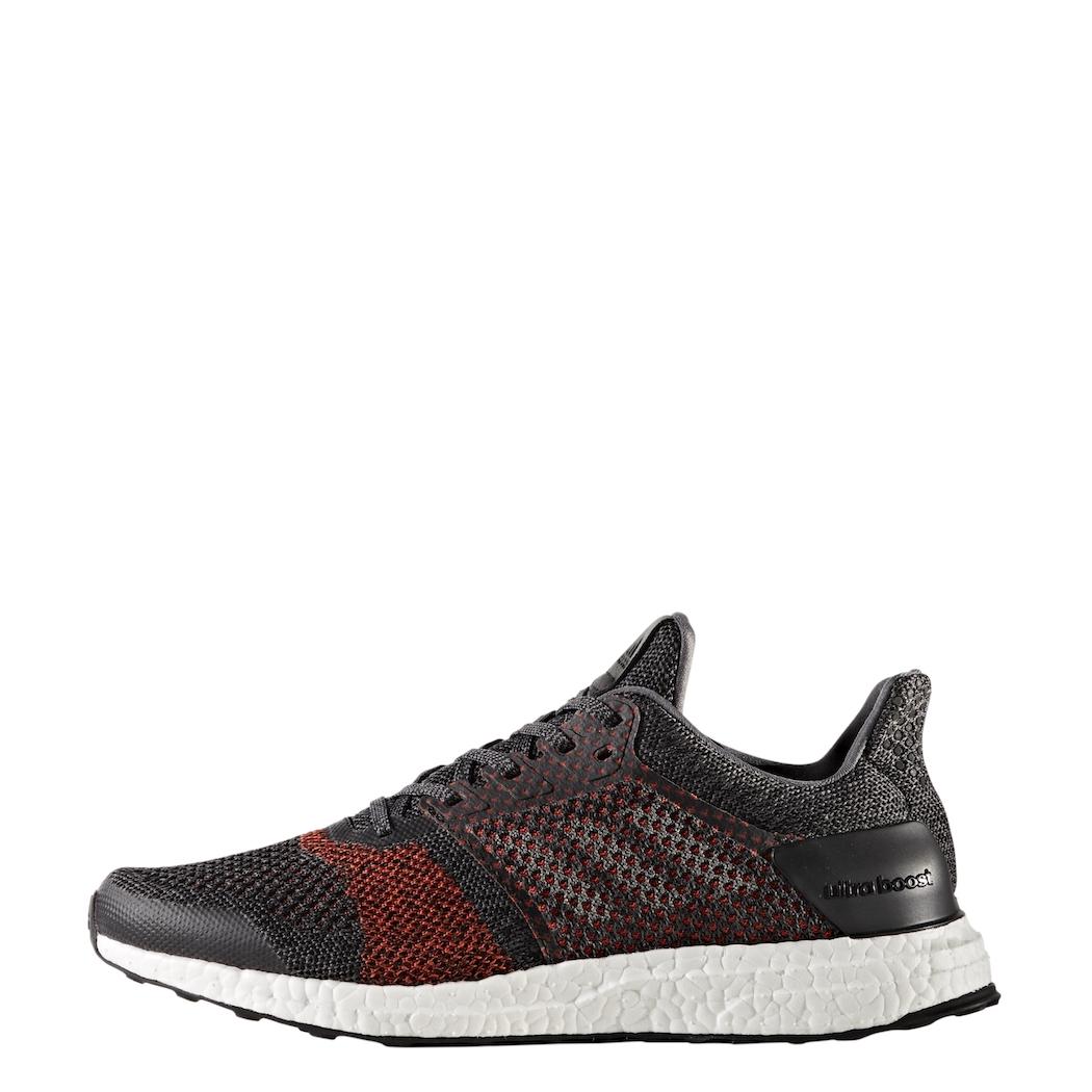 order classic styles new images of adidas Ultra Boost ST Herren Laufschuhe schwarz / rot
