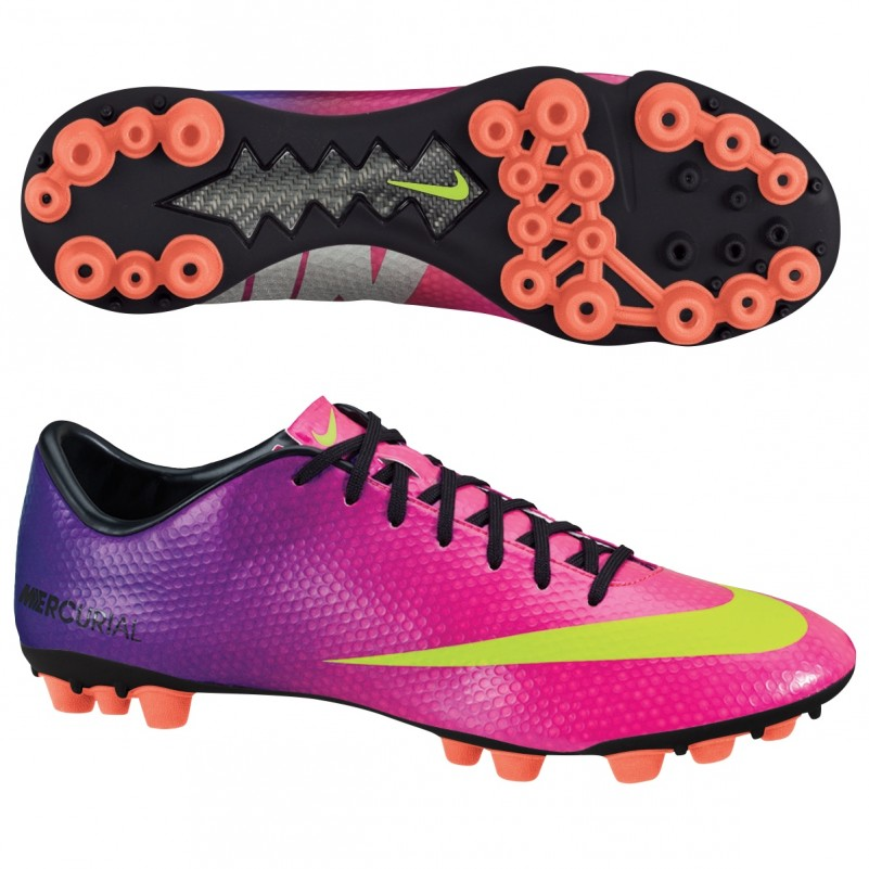 great look sleek official Nike Mercurial Veloce AG FIREBERRY pink