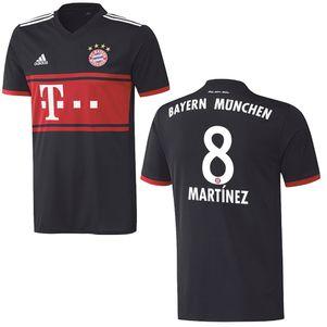 adidas FC Bayern München Auswärtstrikot mit Flock 2017 / 2018  – Bild 7