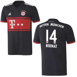 adidas FC Bayern München Auswärtstrikot mit Flock 2017 / 2018  – Bild 12
