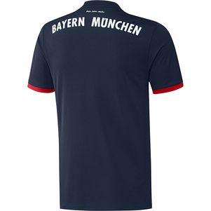 adidas FC Bayern München Auswärtstrikot mit Flock 2017 / 2018  – Bild 2